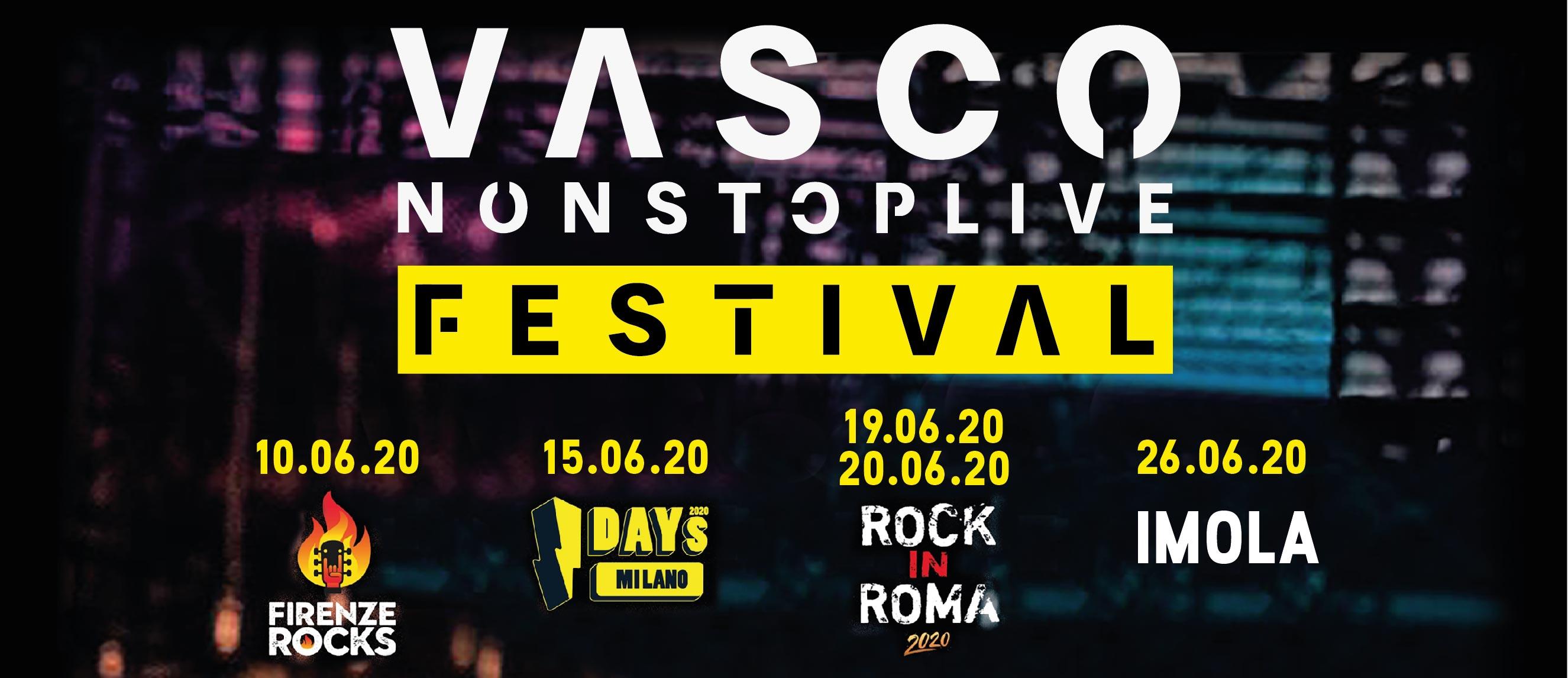 Vasco non stop live festival