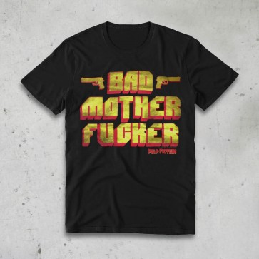 T-SHIRT BAD MOTHER PULP FICTION