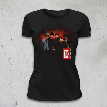 T-SHIRT DONNA PHOTO RAY ONE DIRECTION