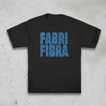 T-SHIRT MANIFESTO NERA - FABRI FIBRA