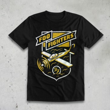 T-SHIRT PLANE FOO FIGHTERS