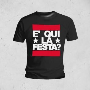 T-SHIRT E' QUI LA FESTA JOVANOTTI