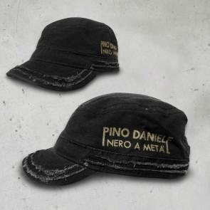 CAPPELLO PATROL - NERO A META' - NERO - PINO DANIELE