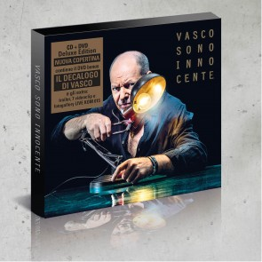CD+DVD IL DECALOGO SONO INNOCENTE - VASCO ROSSI