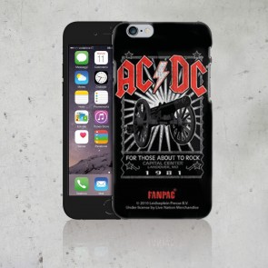 COVER I PHONE 4 FOR THOSE ABOUT TO ROCK AC/DC