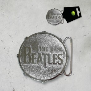FIBBIA DRUM  METALLO THE BEATLES