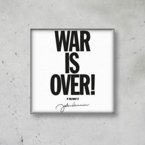 MAGNETE WAR IS OVER JOHN LENNON