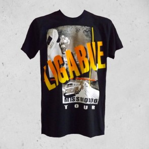 T-SHIRT MISS MONDO TOUR LIGABUE