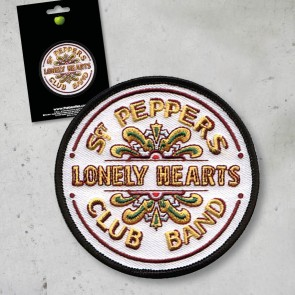 PATCH SGT.PEPPER'S LOGO THE BEATLES