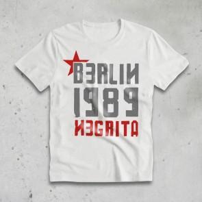T-SHIRT UOMO BERLIN BIANCA - NEGRITA