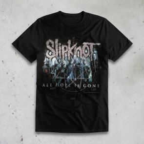 T-SHIRT BLUE SLIPKNOT