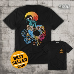 T-SHIRT BURNING MAN 2019 - FIRENZE ROCKS