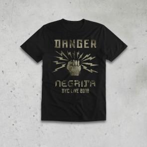 T-SHIRT BIMBO 9/11 ANNI DANGER 2018 - NEGRITA