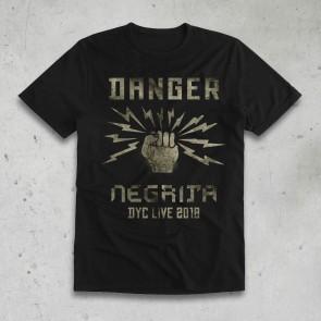 T-SHIRT UOMO  DANGER 2018 - NEGRITA