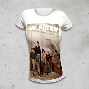 T-SHIRT DONNA BAND LOUNGE ONE DIRECTION