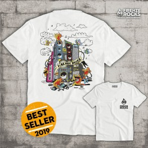 T-SHIRT FLAMES 2019 - FIRENZE ROCKS