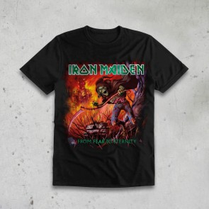 T-SHIRT FROM FEAR TO ETERNITY IRON MAIDEN