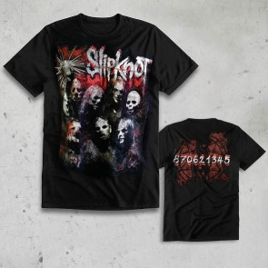 T-SHIRT GRUNGE GROUP SLIPKNOT
