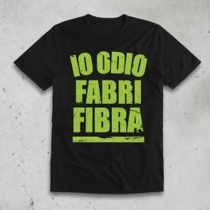 T-SHIRT IO ODIO VERDE - FABRI FIBRA
