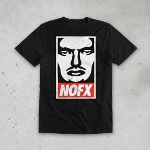 T-SHIRT OBEY NOFX