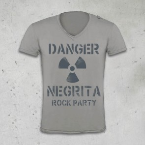 T-SHIRT ROCK PARTY 2013 - PEARL - NEGRITA