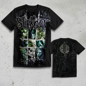 T-SHIRT SCRATCH SQUARE SLIPKNOT