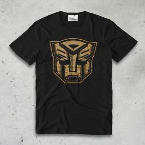 T-SHIRT ABOUT SHIELD GOLD TRANSFORMERS