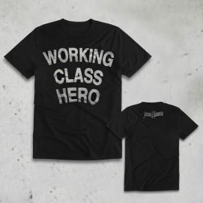 T-SHIRT WORKING CLASS HERO JOHN LENNON