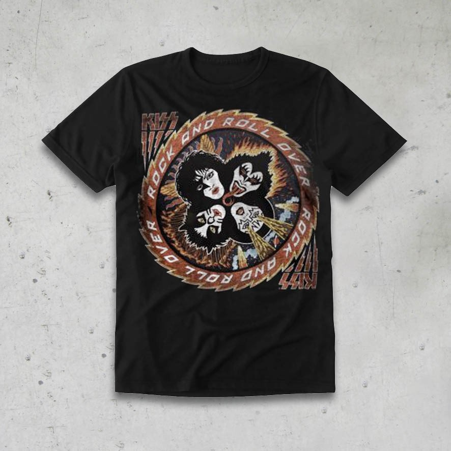 KISS ROCK AND ROLL OVER TS