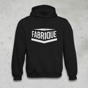 BLACK HOODY - FABRIQUE