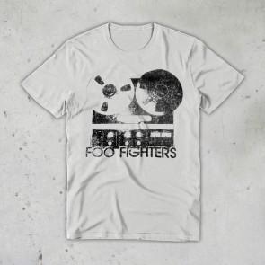 T-SHIRT CASSETTE FOO FIGHTERS