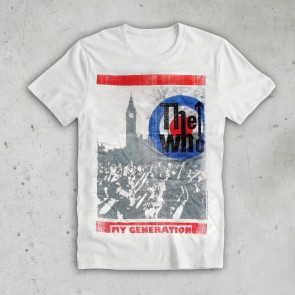 T SHIRT LONDON THE WHO