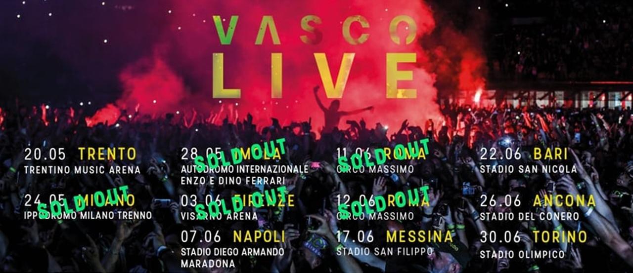 Vasco Live Tour